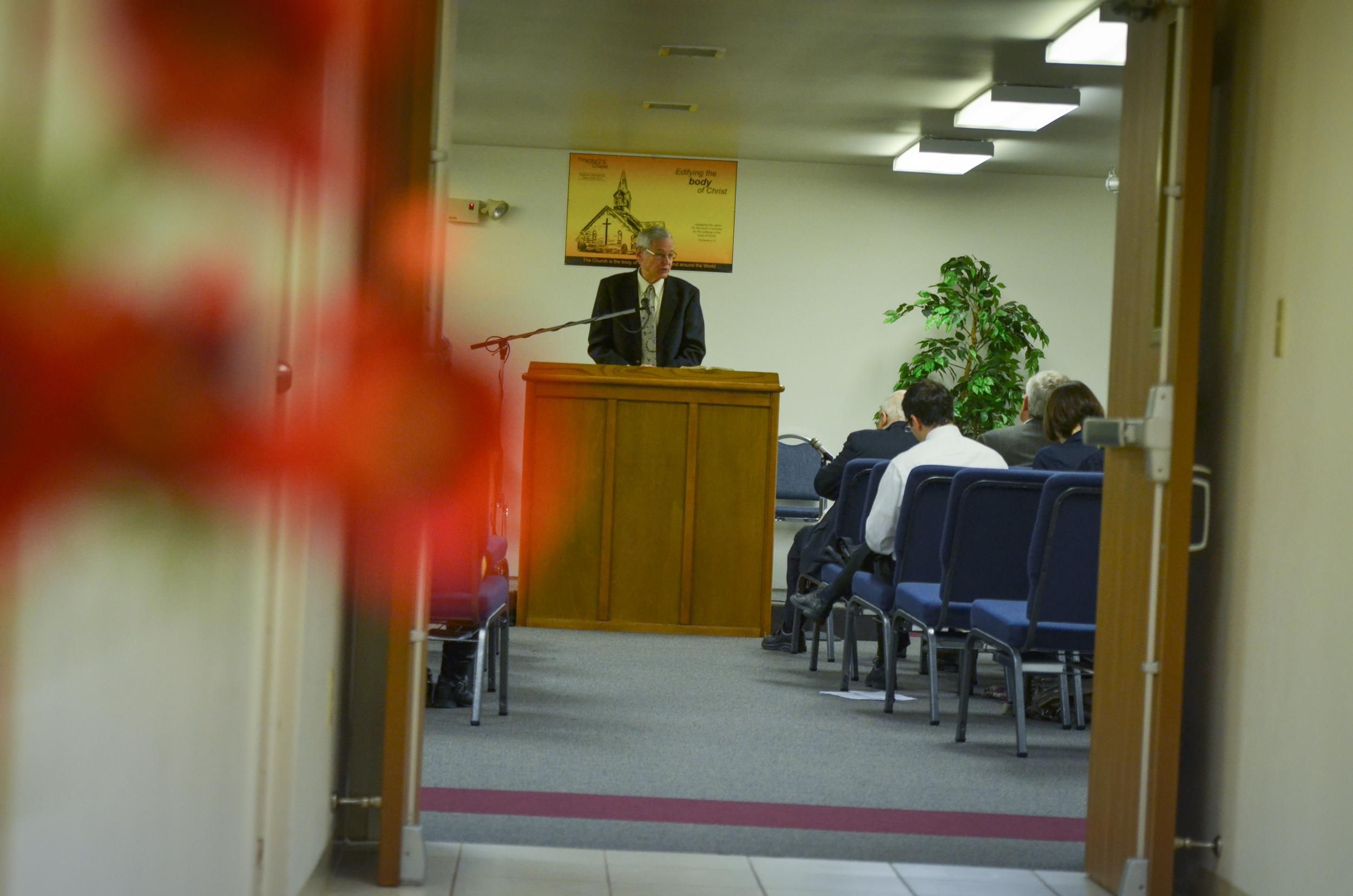 Guest speaker, Gordon Taylor